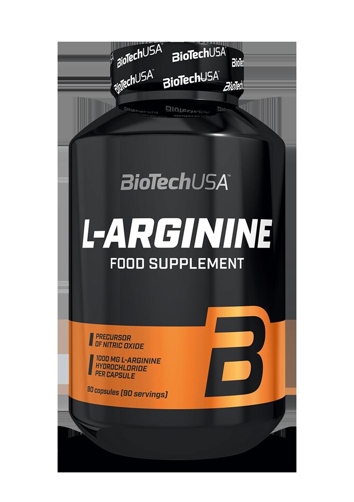 BioTech USA L-Arginine 90 kap.