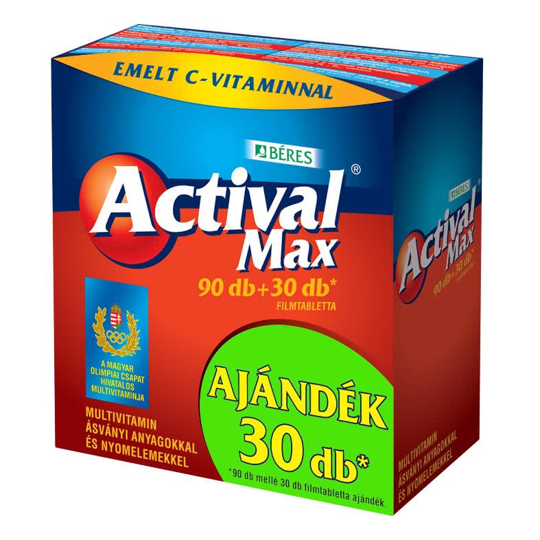 Béres Actival Max 90 tab.+30 tab.