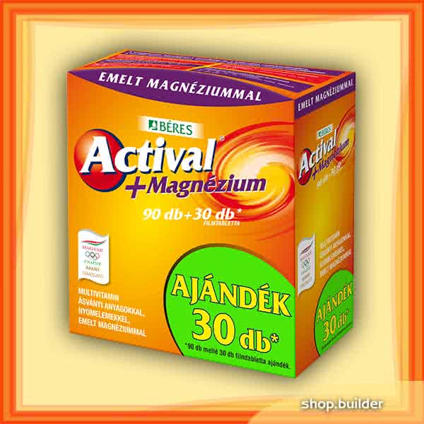 Béres Actival + Magnesium 90 tab.+30 tab.