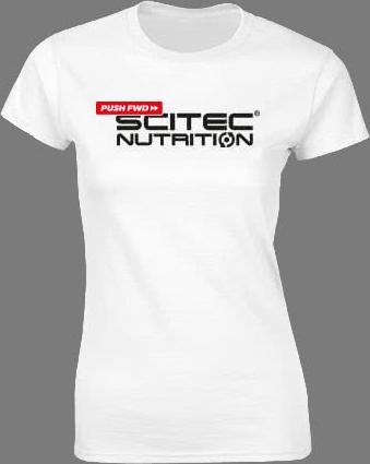 Scitec Nutrition PUSHFWD női póló