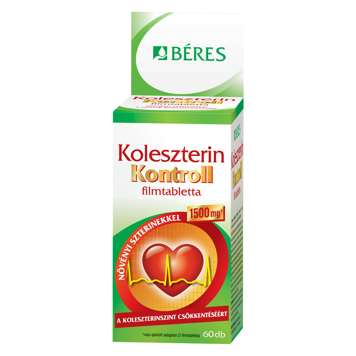 Béres Koleszterin Kontroll 60 tab.