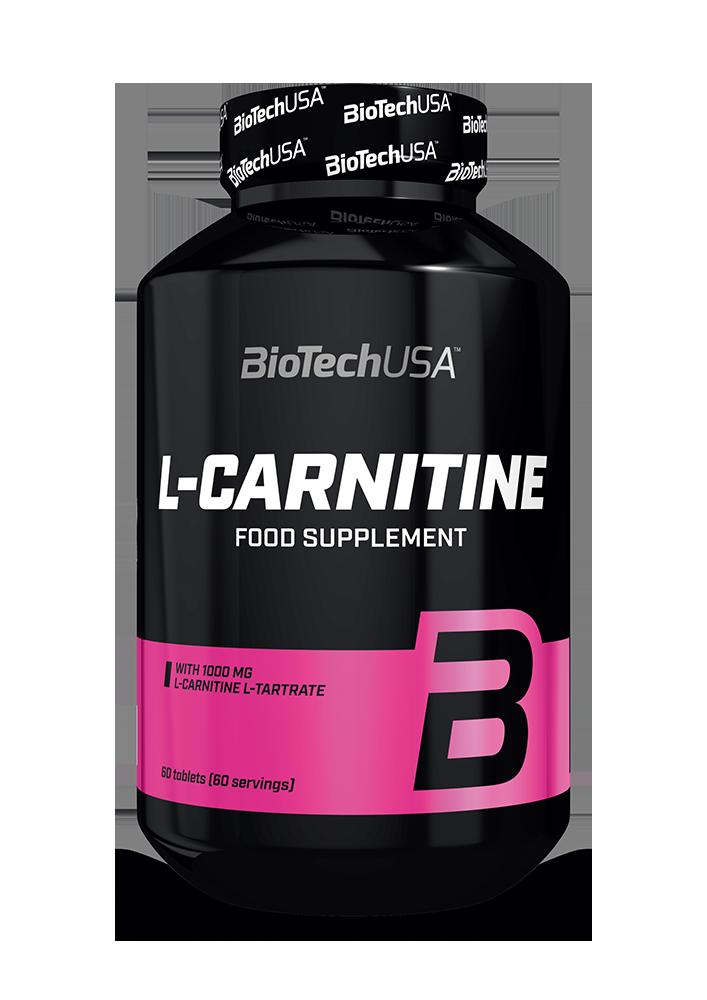 BioTech USA L-Carnitine (1000 mg) 60 tab.
