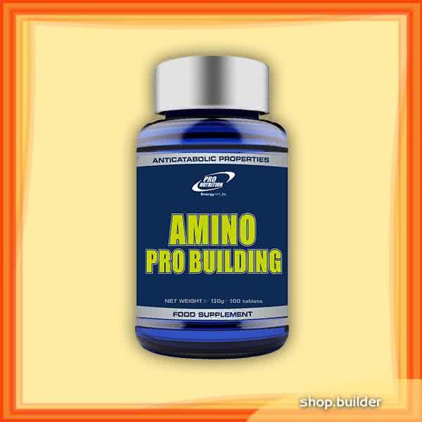 Pro Nutrition Amino Pro Building 100 tab.
