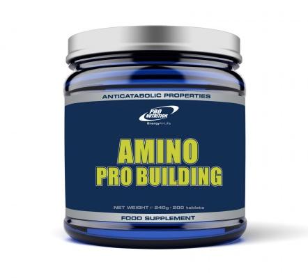 Pro Nutrition Amino Pro Building 200 tab.