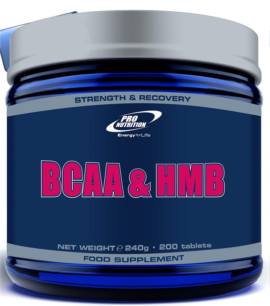 Pro Nutrition BCAA & HMB 200 tab.