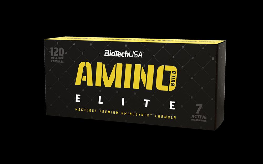 BioTech USA Amino Build Elite 120 kap.