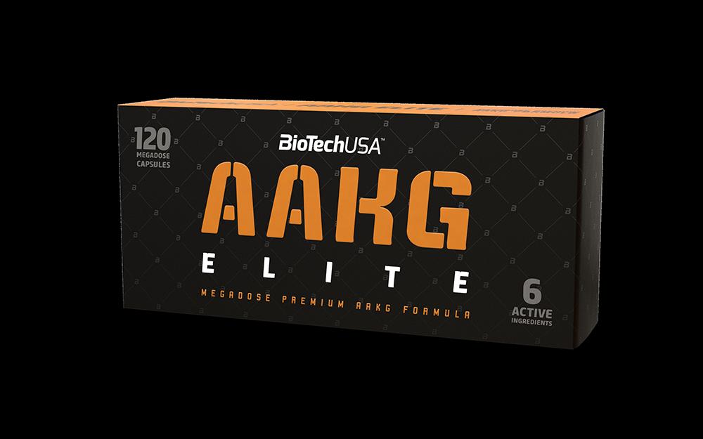 BioTech USA AAKG Elite 120 kap.