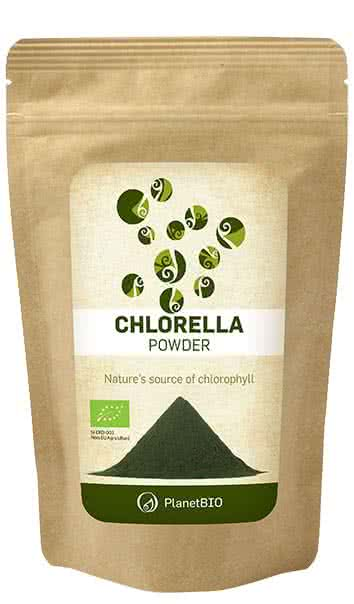 PlanetBio Chlorella por 100 gr.