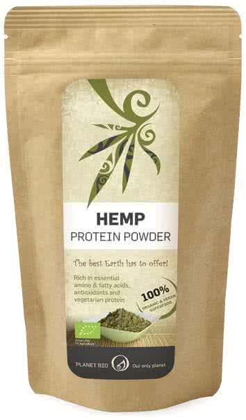 PlanetBio Kendermag fehérjepor (Hemp Protein) 0,2 kg