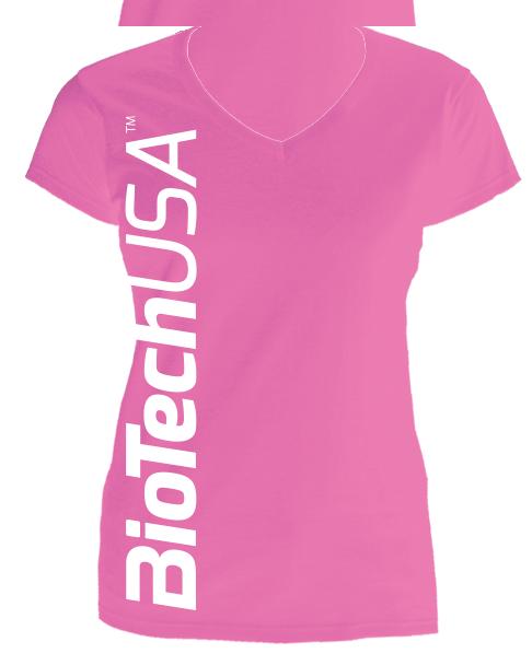 BioTech USA Sweet Pink női póló