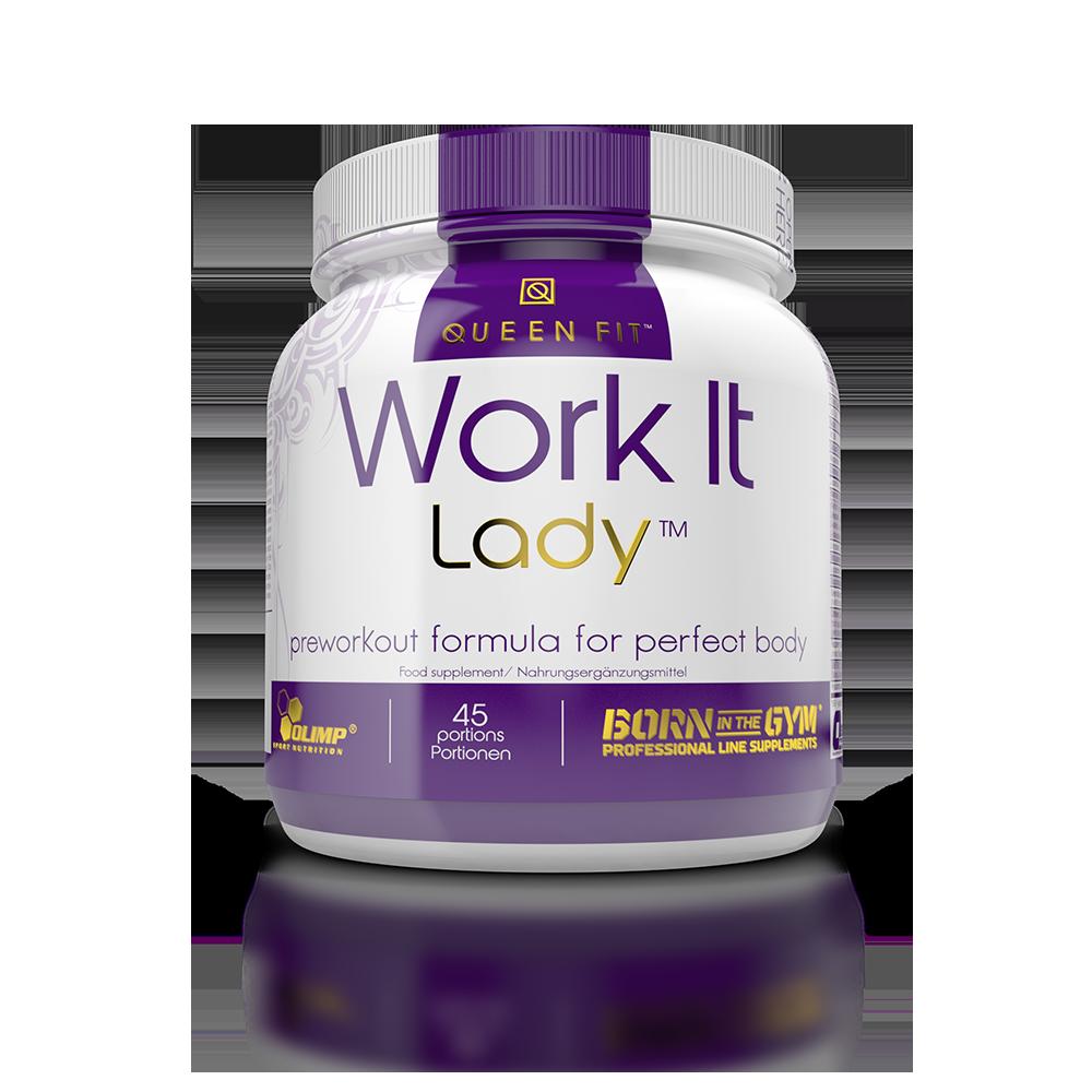 Olimp Sport Nutrition Queen Fit Work It Lady Preworkout 337 gr.