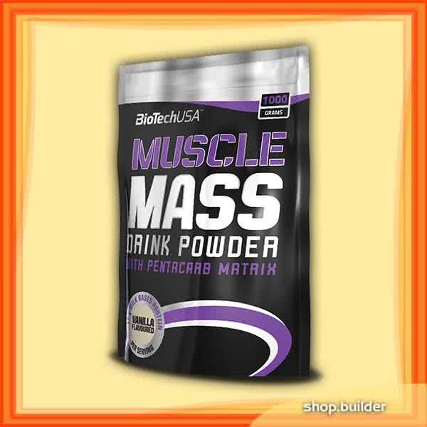 BioTech USA Muscle Mass 1 kg