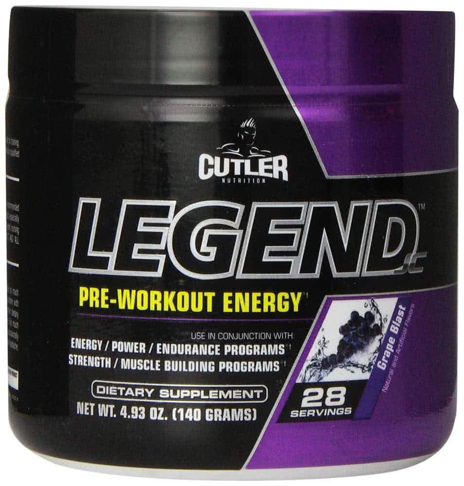 Cutler Nutrition Legend 140 gr.