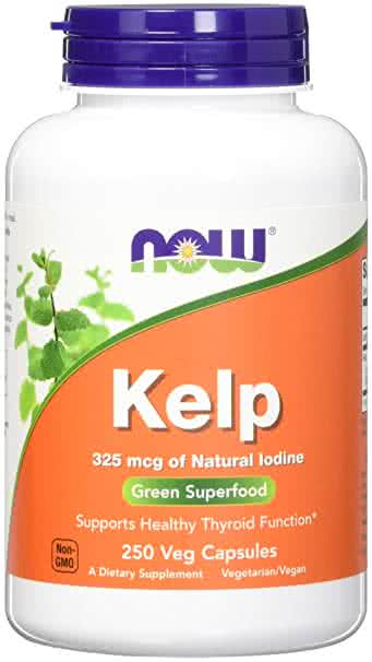 Now Foods Kelp 250 kap.