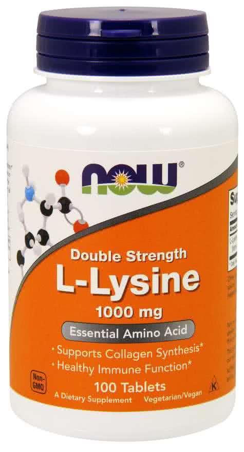 Now Foods L-Lysine 100 tab.