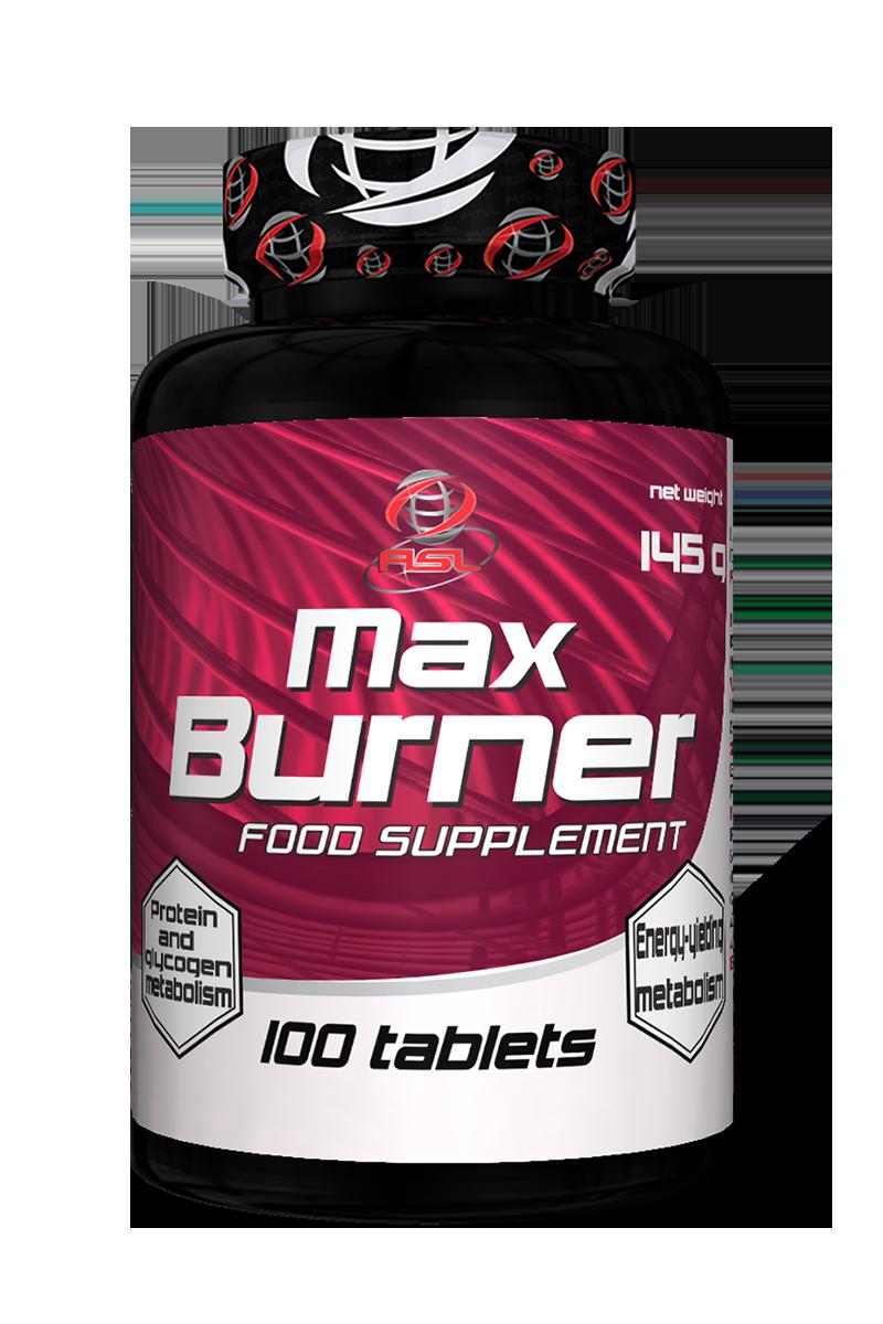 AllSports Labs Max Burner 100 tab.