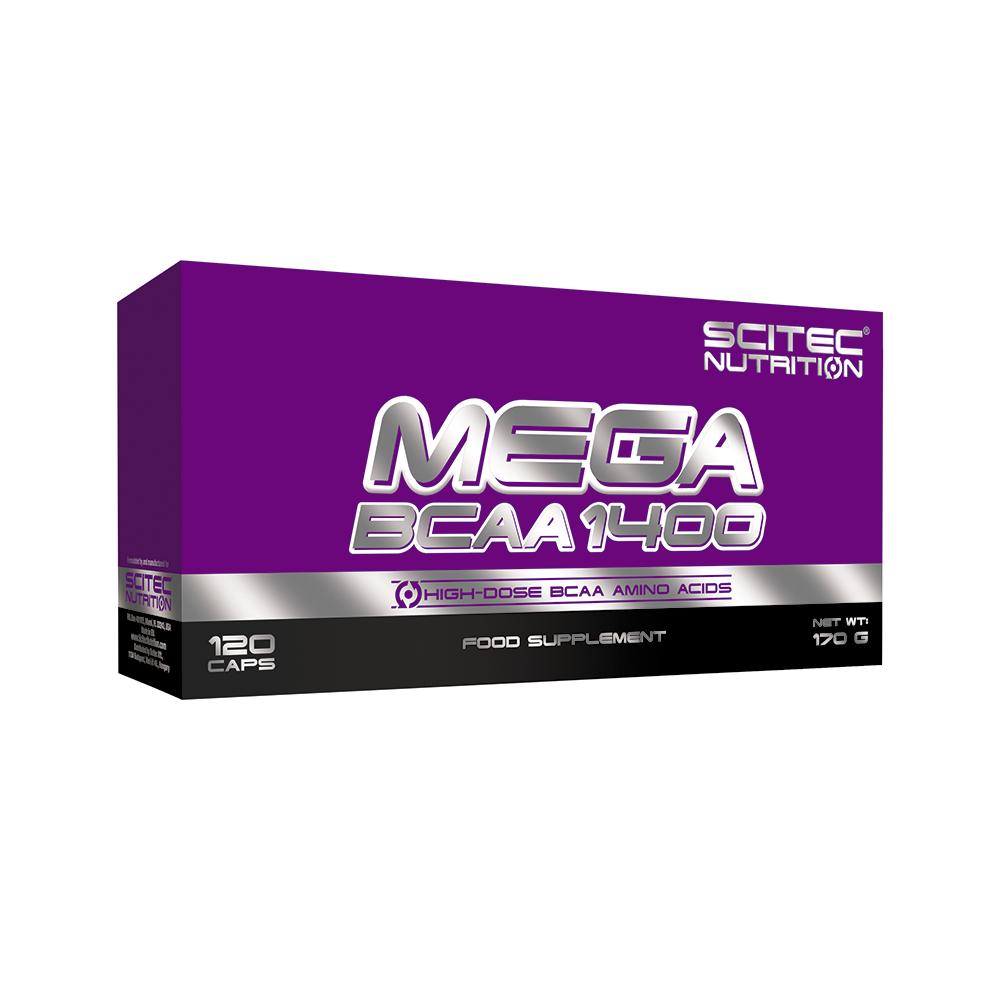 Scitec Nutrition Mega BCAA 1400 120 kap.