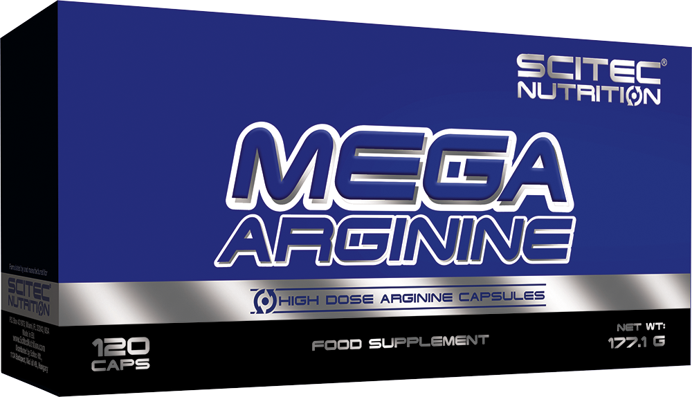 Scitec Nutrition Mega Arginine 120 kap.