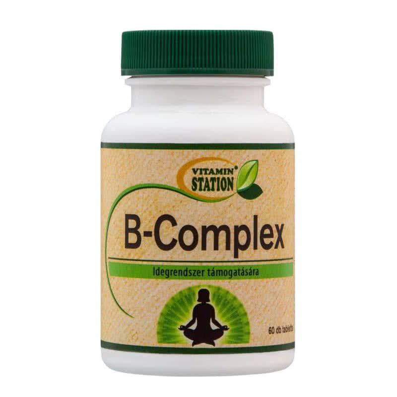 Vitamin Station B-Complex 60 tab.
