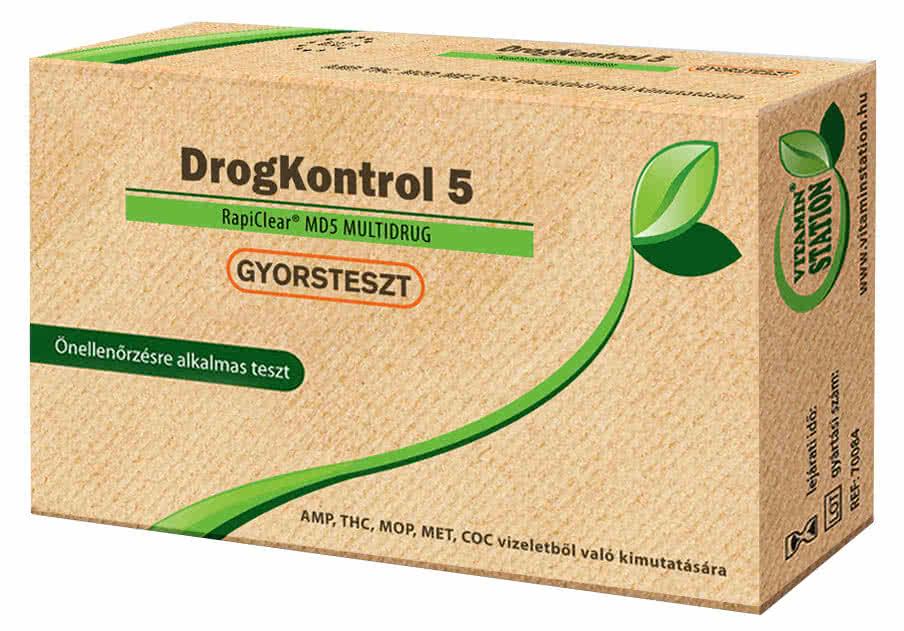 Vitamin Station DrogKontroll 5 gyorsteszt 1 db