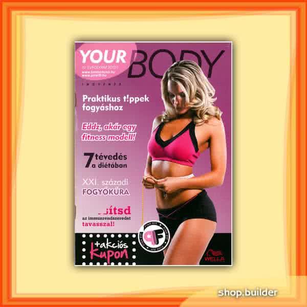 Könyvek/Magazinok Your Body 2012/I. Különszám