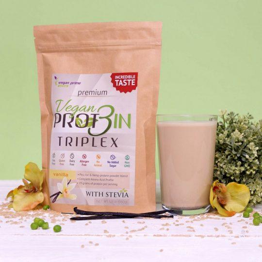 Netamin Vegan Prot3in Triplex 0,55 kg