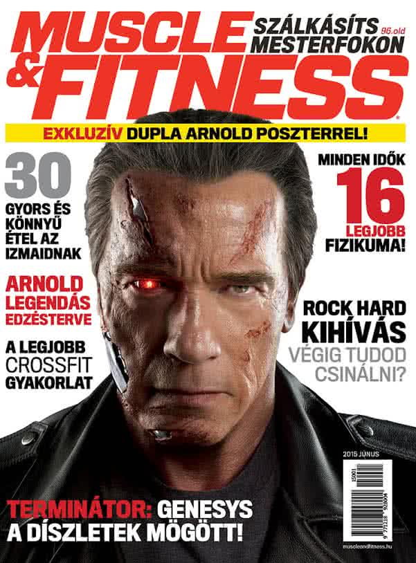 Könyvek/Magazinok Muscle&Fitness Magazin 2015/1.lapszám (2015 VI-VII)