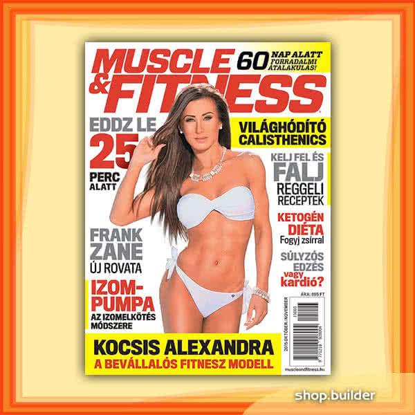 Könyvek/Magazinok Muscle&Fitness Magazin 2015/3.lapszám (2015 X-XI)