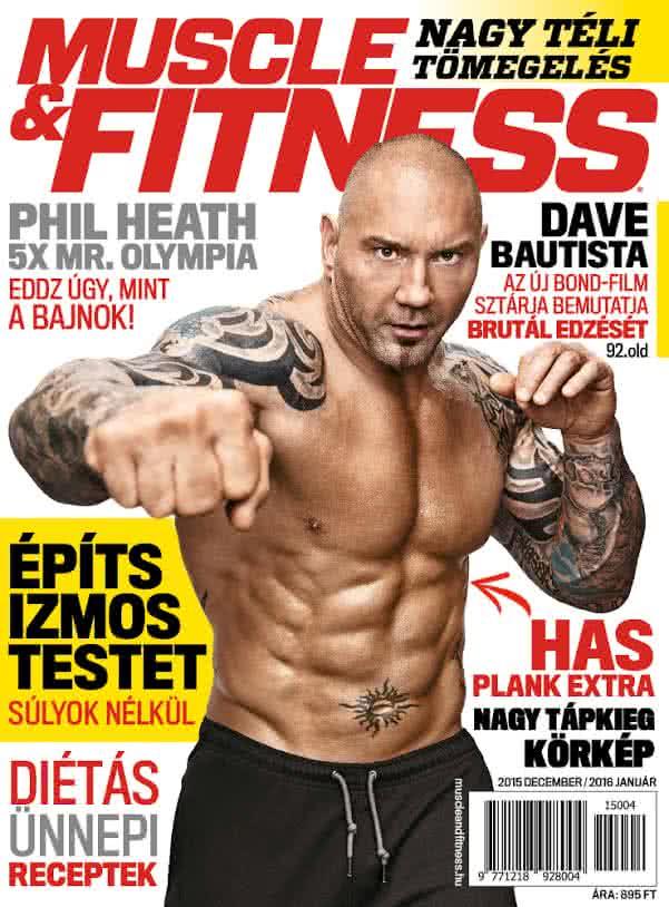 Könyvek/Magazinok Muscle&Fitness Magazin 2015/4.lapszám (2015 XII-2016 I)