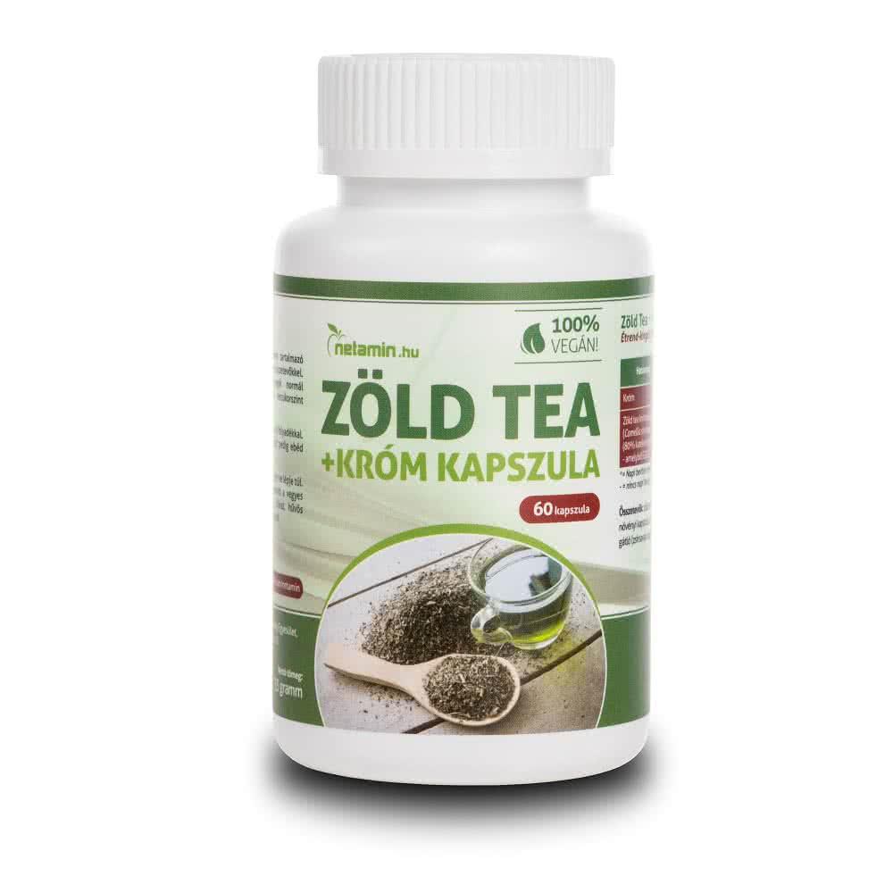 Netamin Zöld Tea + Króm 60 kap.