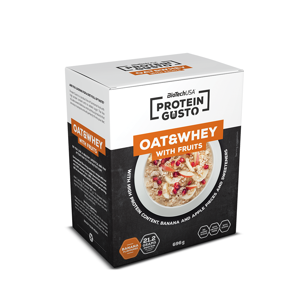BioTech USA Protein Gusto Oat&Whey with fruits 696 gr.