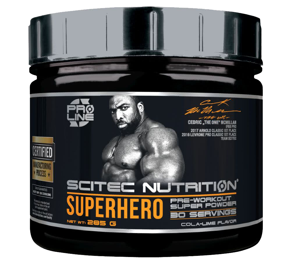 Scitec Nutrition Superhero 285 gr.
