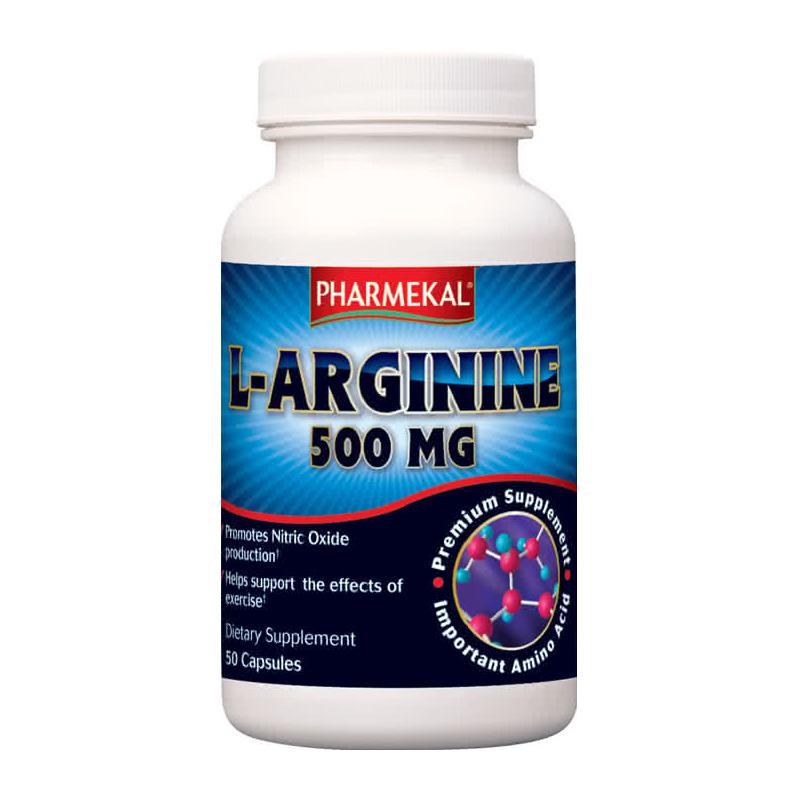 Pharmekal L-Arginine 50 kap.