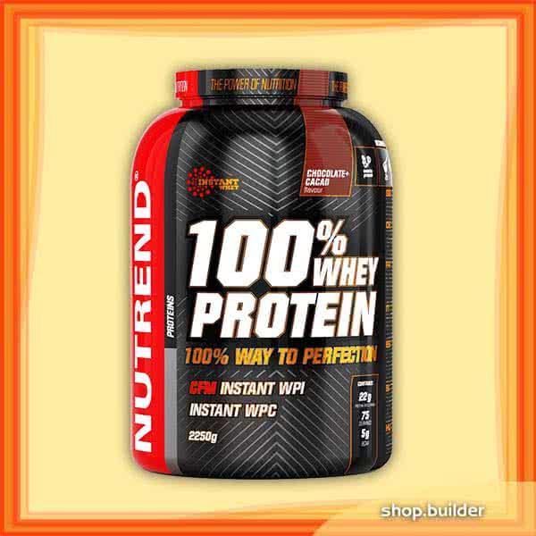 Nutrend 100% Whey Protein 2,25 kg
