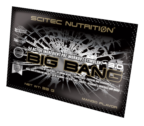 Scitec Nutrition Big Bang 3.0 33 gr.