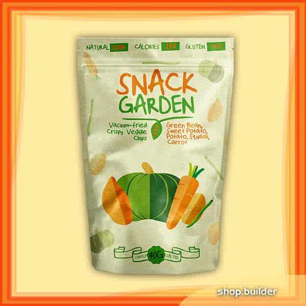 Egyéb tápkieg. Snack Garden Veggie Mix 40 gr.