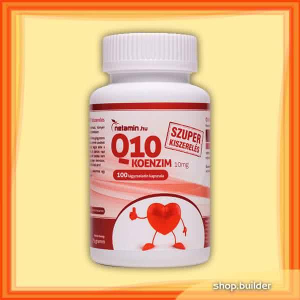 Netamin Q10 koenzim 10mg 100 kap.