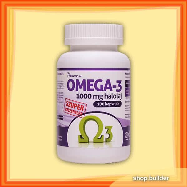 Netamin Omega-3 (Szuper Kiszerelés) 100 kap.