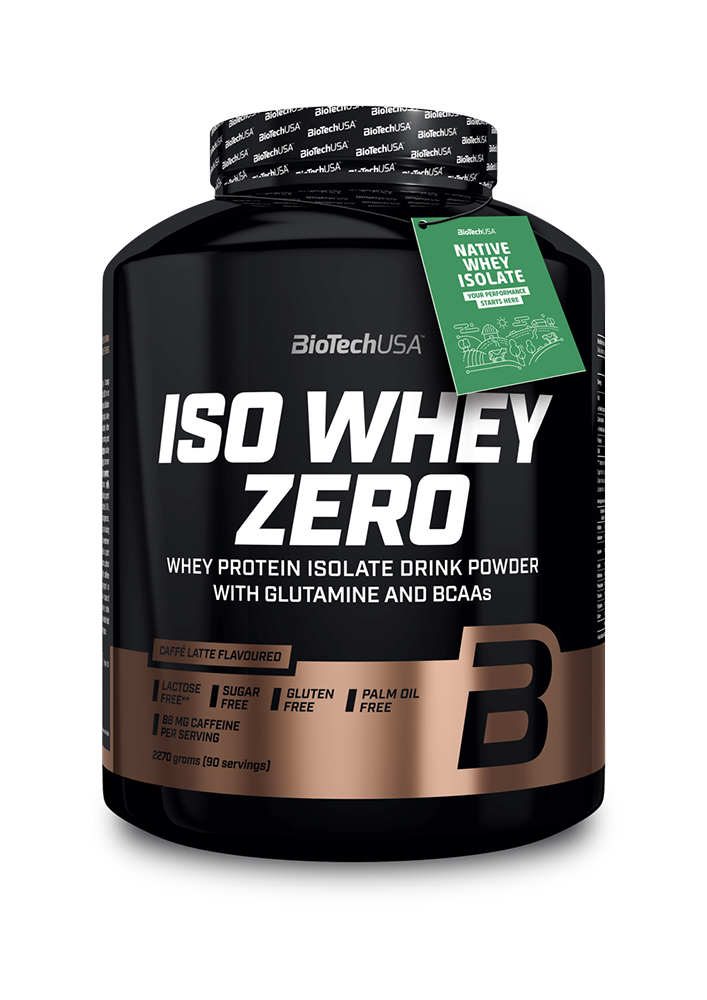 BioTech USA Iso Whey Zero Caffé Latte 2,27 kg