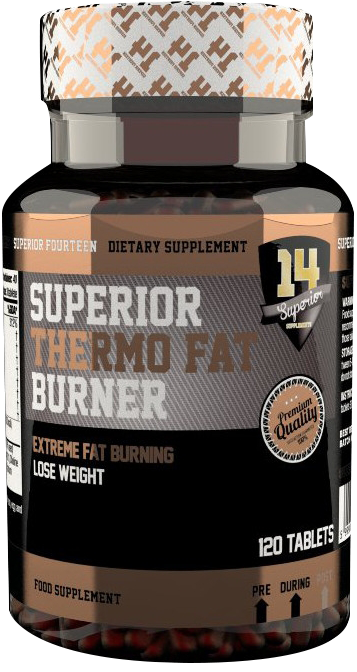 Superior 14 Thermo Fat Burner 120 kap.