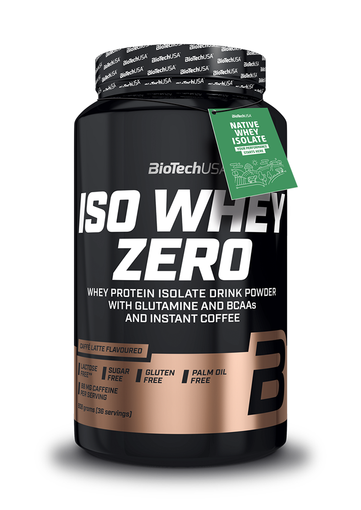 BioTech USA Iso Whey Zero Caffé Latte 0,908 kg