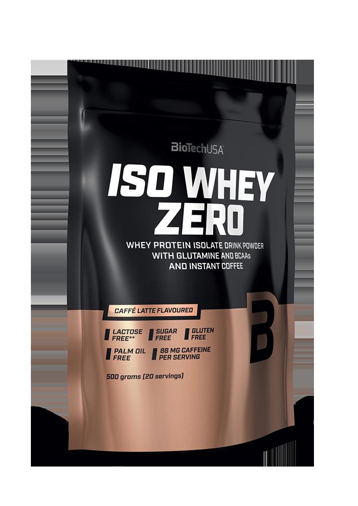 BioTech USA Iso Whey Zero Caffé Latte 0,5 kg