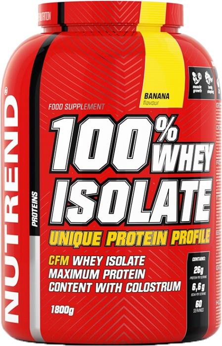 Nutrend 100% Whey Isolate 1,8 kg