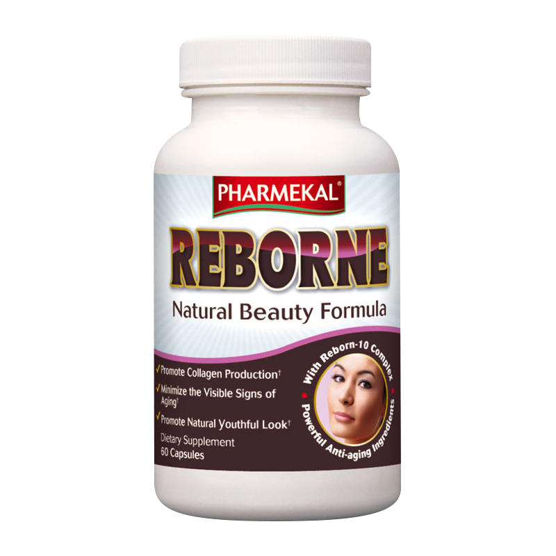 Pharmekal Reborne - Natural Beauty Formula 60 kap.