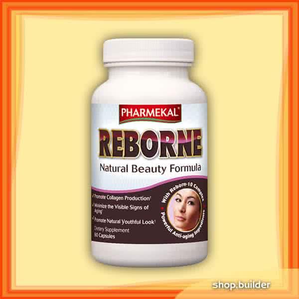 Pharmekal Reborne - Natural Beauty Formula 60 kap.