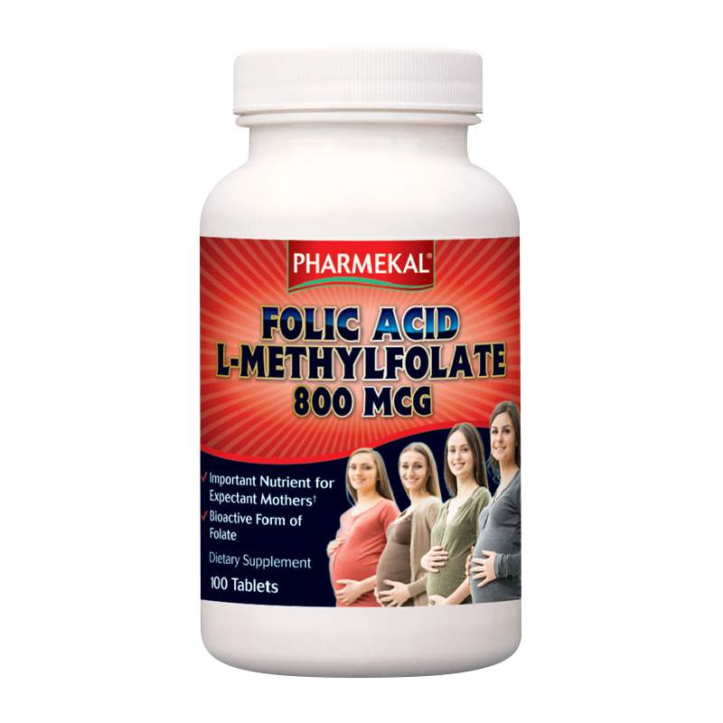 Pharmekal Folate (L-Methylfolate) 100 tab.