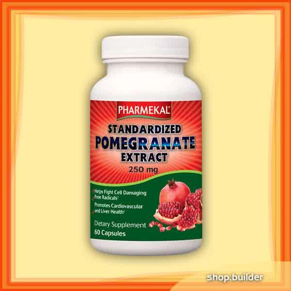 Pharmekal Gránátalma kivonat (Pomegranate Extract) 60 kap.