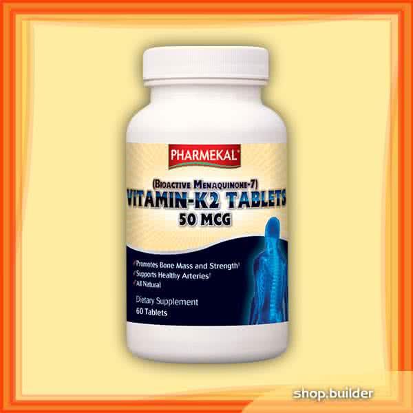 Pharmekal Vitamin K2 60 kap.