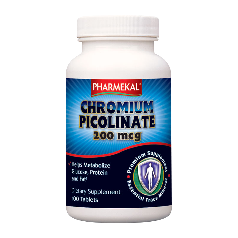 Pharmekal Chromium Picolinate 100 tab.