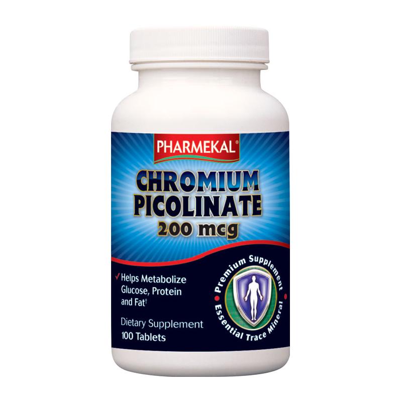 Pharmekal Chromium Picolinate 100 tab.